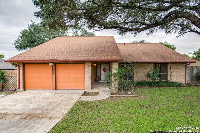 Leon Valley Single Family Home Active Option: 7007 Weathered Post St