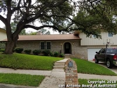 San Antonio Single Family Home New: 7638 Susan Elaine St