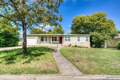 San Antonio Single Family Home New: 107 Blakeley Dr
