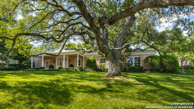 Boerne, Cibolo, Converse, Fair Oaks Ranch, Helotes, Leon Valley, New Braunfels, San Antonio, Schertz, Windcrest Single Family Home New: 206 Oak Park Dr