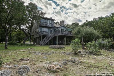 Canyon Lake Single Family Home Active Option: 1204 Lakeside Dr E