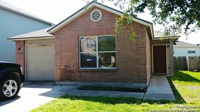 Converse Single Family Home New: 8910 Kestrel Oak