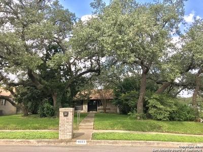 San Antonio Single Family Home New: 4603 Midnight Woods St
