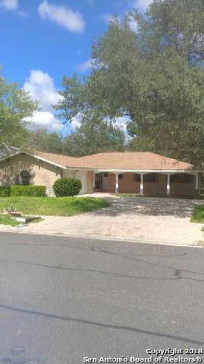 San Antonio Single Family Home New: 10506 Tioga Dr