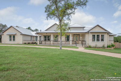 New Braunfels Single Family Home For Sale: 2318 Geneseo Oaks