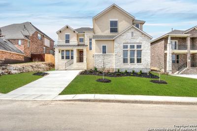 San Antonio Single Family Home New: 25623 Coronado Bluff