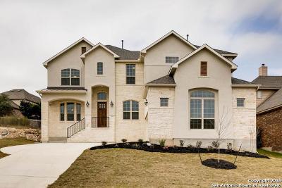 San Antonio Single Family Home New: 25627 Coronado Bluff