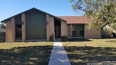 New Braunfels Single Family Home Active Option: 5 Roselawn Circle