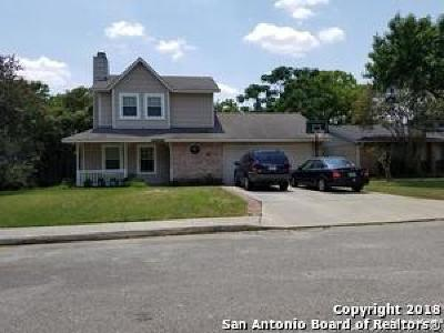 San Antonio Single Family Home New: 2518 Moss Branch