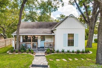 Boerne Single Family Home New: 507 W San Antonio Ave