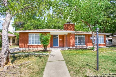 San Antonio Single Family Home New: 2311 W Gramercy Pl
