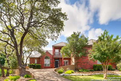 Boerne Single Family Home Price Change: 8514 Fairway Spring Dr