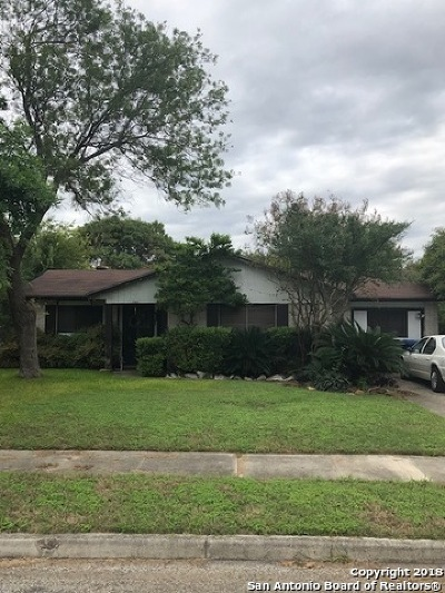 San Antonio TX Single Family Home New: $134,900