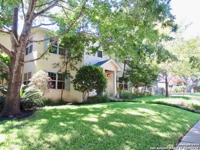Alamo Heights Rental New: 312 Blue Bonnet Blvd