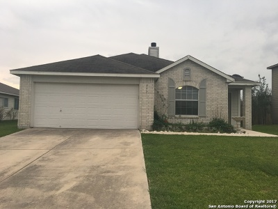 Cibolo Single Family Home New: 157 Willow Way