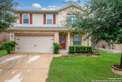 Bexar County Single Family Home New: 6811 Karnes Leaf