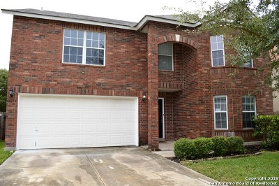 San Antonio Single Family Home New: 18514 Taylore Run