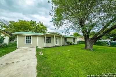 San Antonio TX Single Family Home New: $138,900