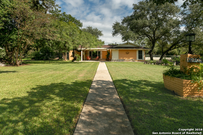 Helotes Single Family Home Active Option: 10403 Bar X Trail