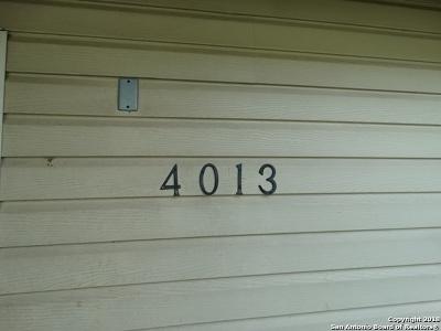 Single Family Home New: 4013 Comanche Sunrise