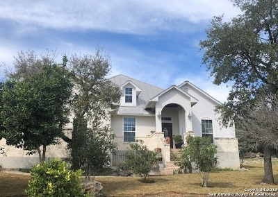 Bulverde Single Family Home Price Change: 30317 Saddleridge Dr
