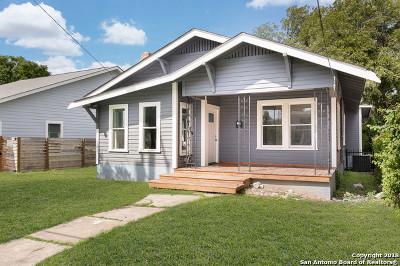 San Antonio Single Family Home New: 323 Burleson