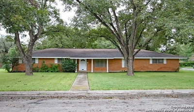 Hondo Single Family Home For Sale: 2809 Avenue I