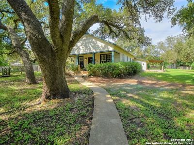 Boerne Single Family Home For Sale: 946 School St
