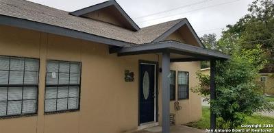 San Antonio Single Family Home New: 1640 Santa Anna