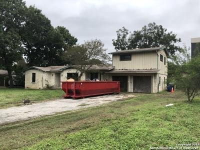 San Antonio Single Family Home New: 2510 Blossom Dr