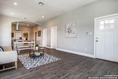 San Antonio Single Family Home New: 112 Dreiss St