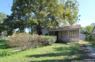 San Antonio Single Family Home New: 1114 W Hutchins Pl