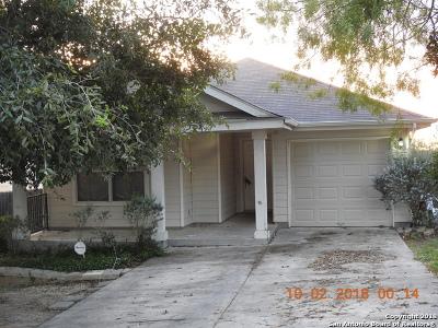 San Antonio Single Family Home Price Change: 7319 Aphelion Cove