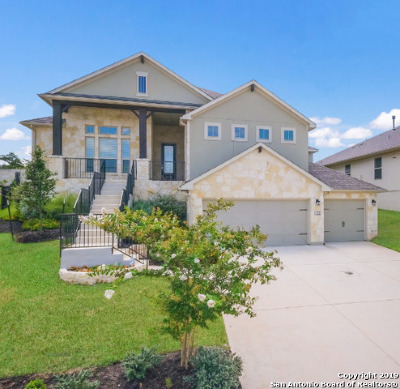 Boerne Single Family Home New: 150 Escalera Crcl