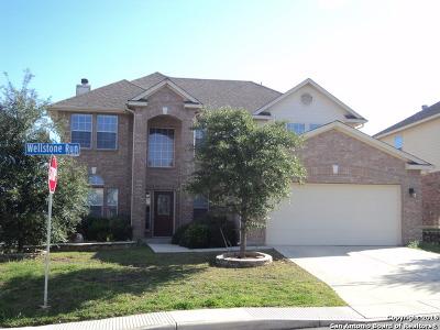 San Antonio Single Family Home New: 12130 Wellstone Run