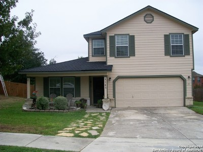 Cibolo Single Family Home New: 145 Willow Brook