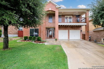 San Antonio Single Family Home New: 1738 Heavens Peak