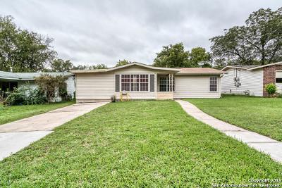 San Antonio Single Family Home New: 1119 San Angelo
