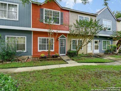 Bexar County Single Family Home Active Option: 12256 Lemon Blossom