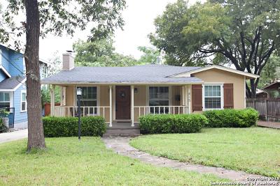 Alamo Heights TX Single Family Home New: $459,000
