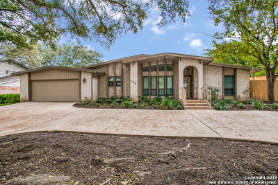 San Antonio Single Family Home New: 2215 Briarwood Dr