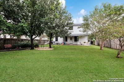 Cibolo Single Family Home New: 132 Whitney Way