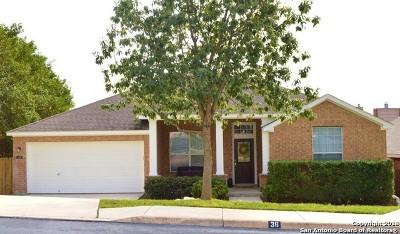 San Antonio Single Family Home New: 36 Montaigne