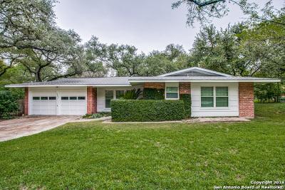 San Antonio Single Family Home New: 2907 Old Ranch Rd
