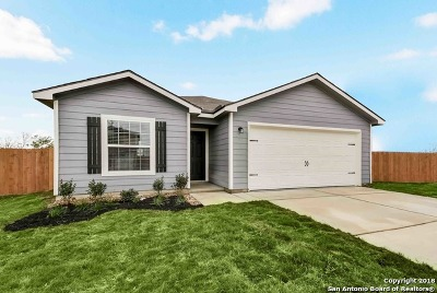 Bexar County Single Family Home New: 12238 Commander Drive