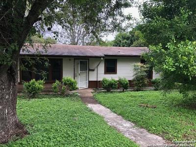 San Antonio Single Family Home New: 4802 Neer Ave