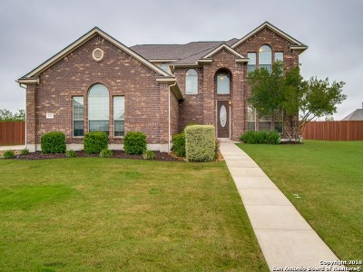 Schertz Single Family Home For Sale: 7006 Hallie Heights