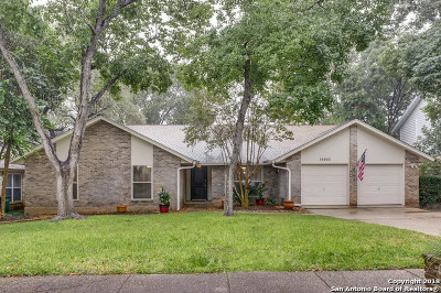 San Antonio Single Family Home New: 14603 Hook Dr