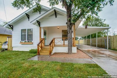 San Antonio Single Family Home New: 227 Douglas Way St