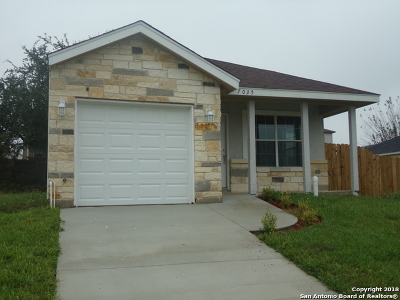 San Antonio Single Family Home New: 7035 Hallie Ridge